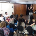 Laura Longo no ISME em Natal . Workshop