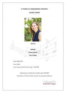 Recital Laura Longo