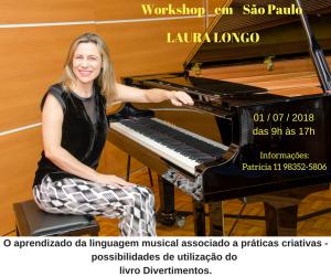 LAURA LONGO-2018 julho Workshop em São Paulo