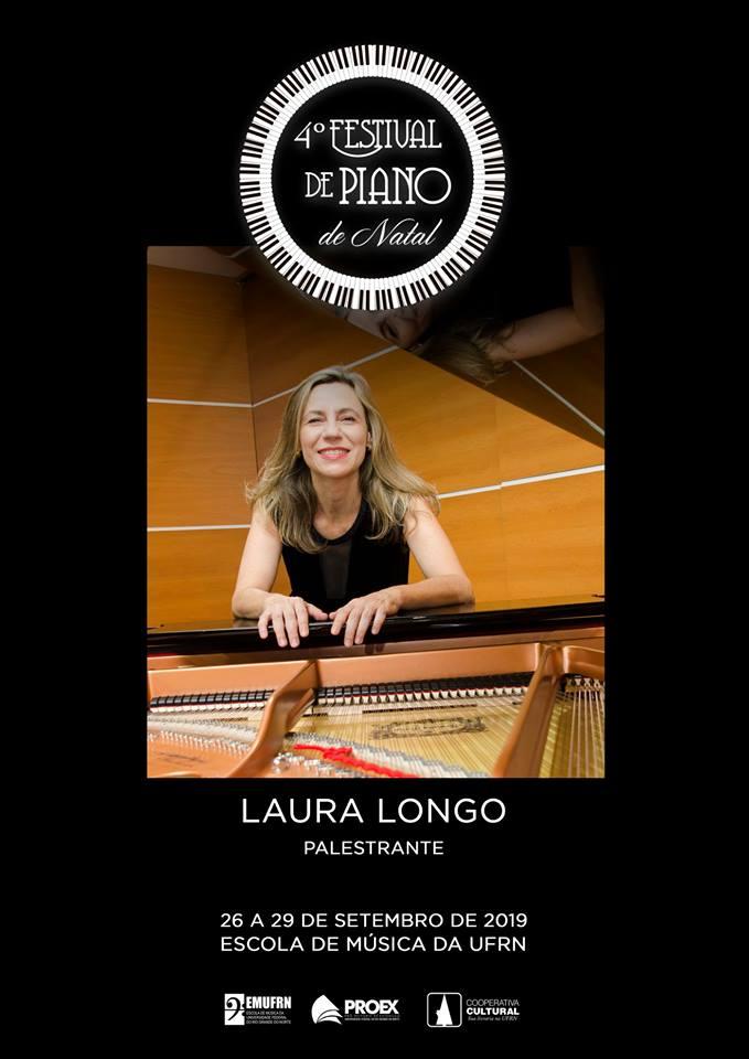 LauraLongo 4º Festival Piano Natal - Vídeo conferência