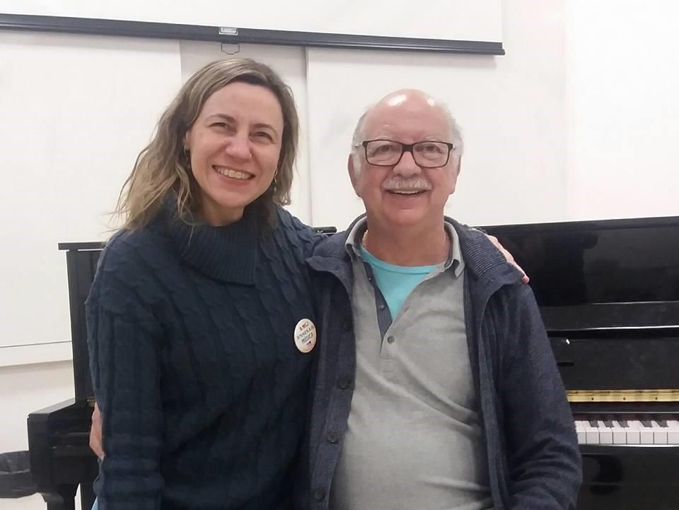 Laura Longo e Iramar Rodrigues